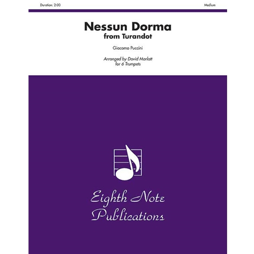 Nessun Dorma (from Turnadot) for 6 Trumpets