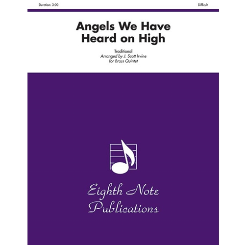 Angels We Have Heard on High for Brass Quintet