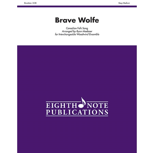 Brave Wolfe for Interchangeable Woodwind Ensemble