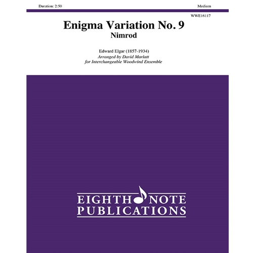 Enigma Variation No. 9 (Nimrod) for Interchangeable Woodwind Ensemble