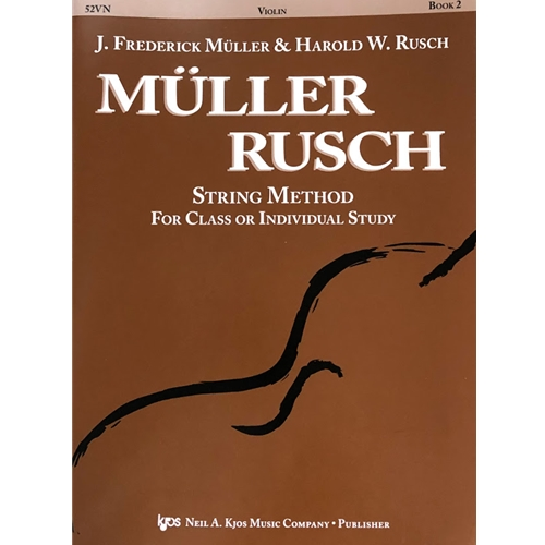 Muller-Rusch String Method - Violin, Book 2