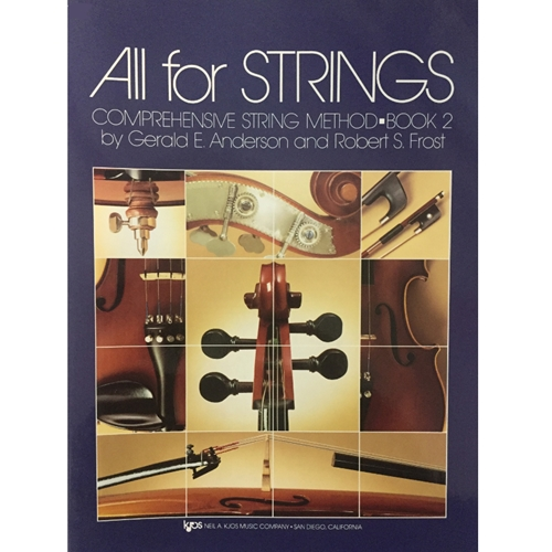 All for Strings - Violin, Book 2