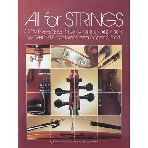 All for Strings - Viola, Book 3