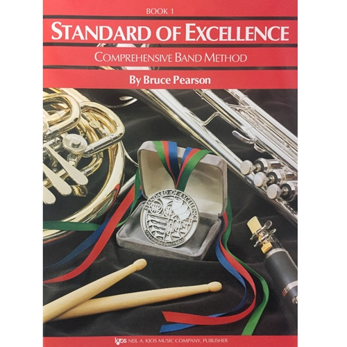Standard of Excellence - Timpani & Auxiliary Percussion, Book 1