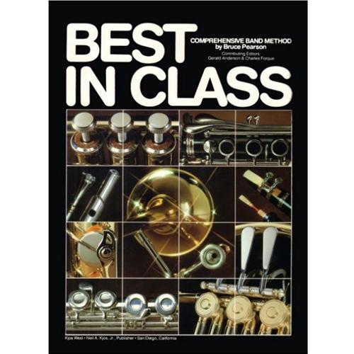 Best in Class - Baritone Bass Clef, Book 1
