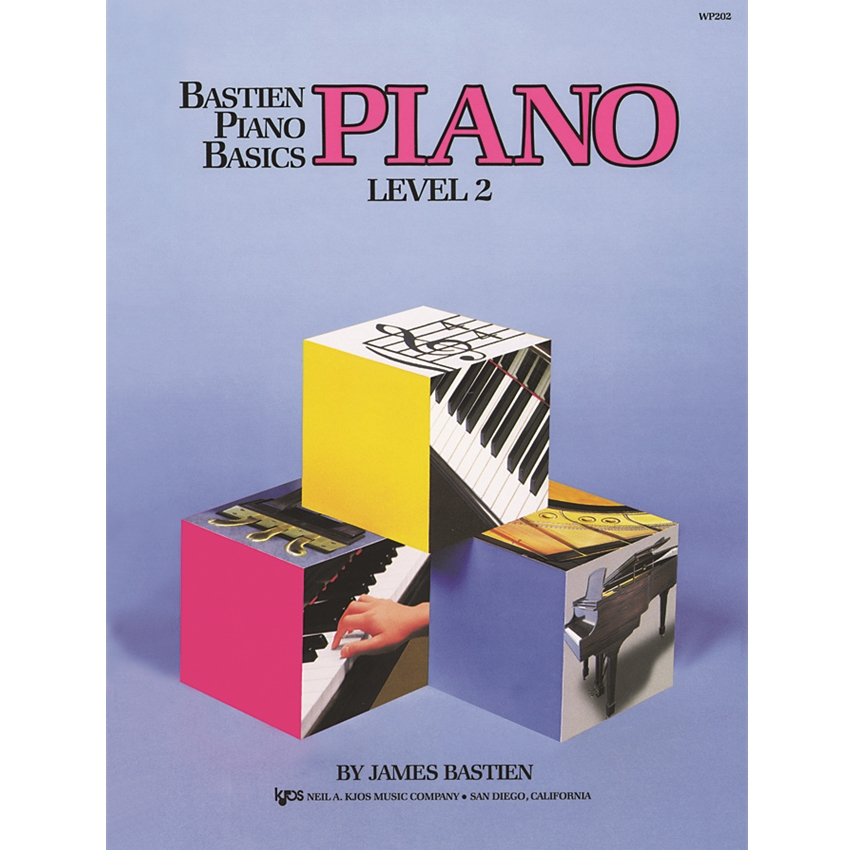Bastien Piano Basics Piano Method, Level 2