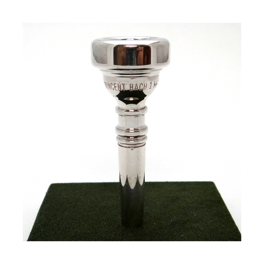 Bach 1.5C Silver-Plated Cornet Mouthpiece