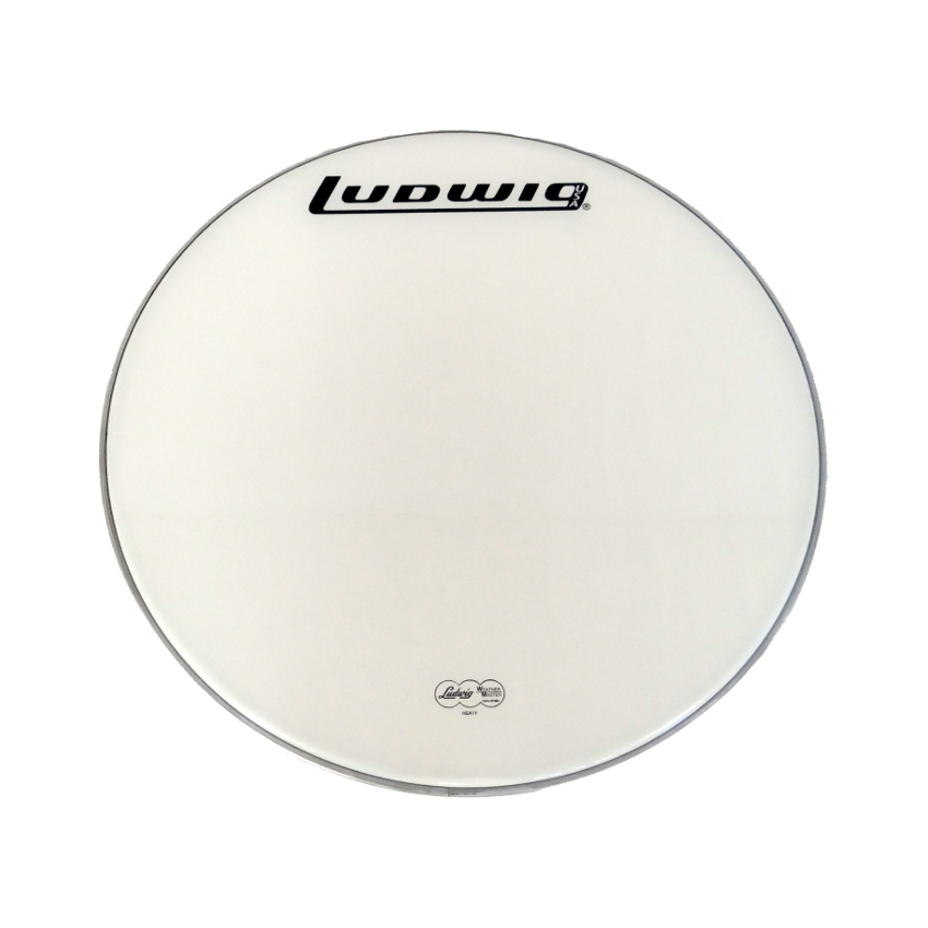 "Ludwig Weather Master 30"" Bass Drum Head, Heavy White"