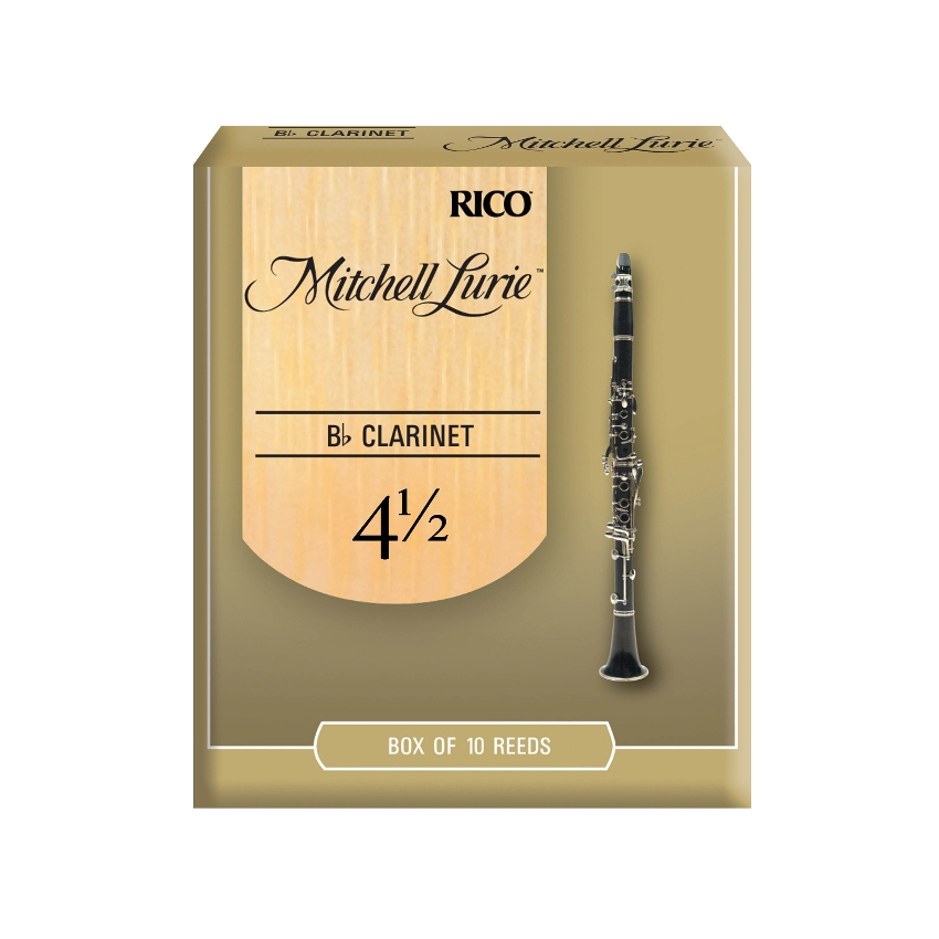 Mitchell Lurie Bb Clarinet Reeds #4.5 (10pk)