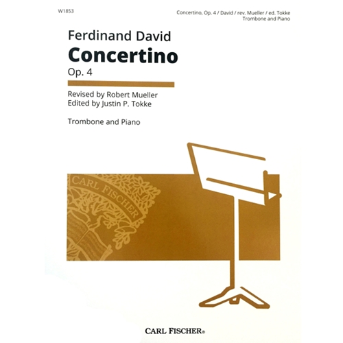DAVID - Concertino for Trombone with Piano Accompaniment