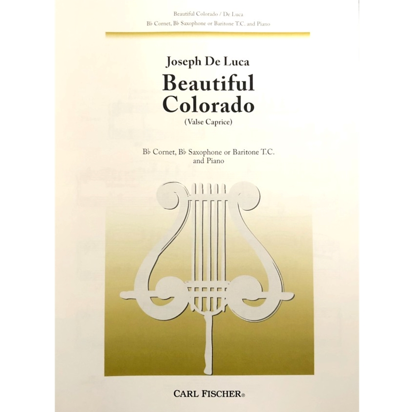DE LUCA - Beautiful Colorado (treble clef edition)