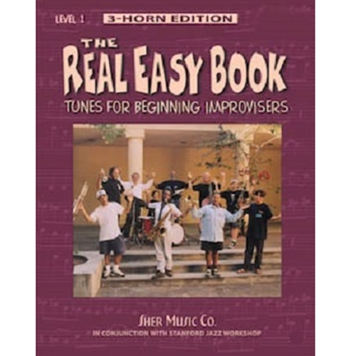 The Real Easy Book Volume 1 for Bass Clef Instruments (Three Horn Edition)