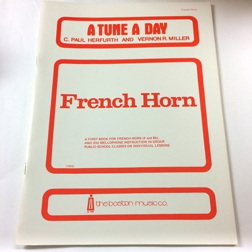 A Tune a Day - French Horn, Book 1