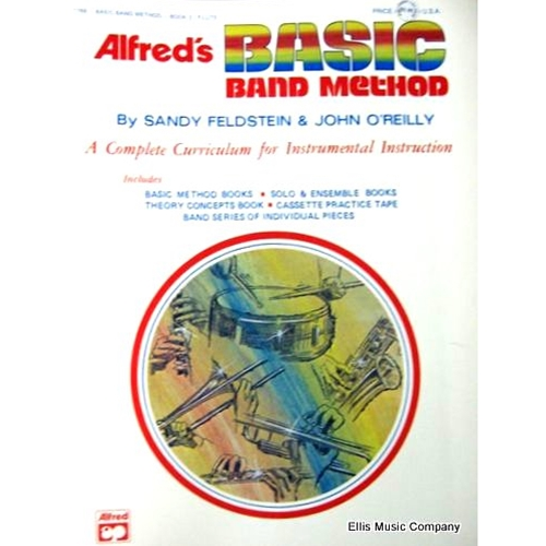 Alfred's Basic Band Method - Percussion (Snare Drum, Bass Drum, Accessory), Book 2