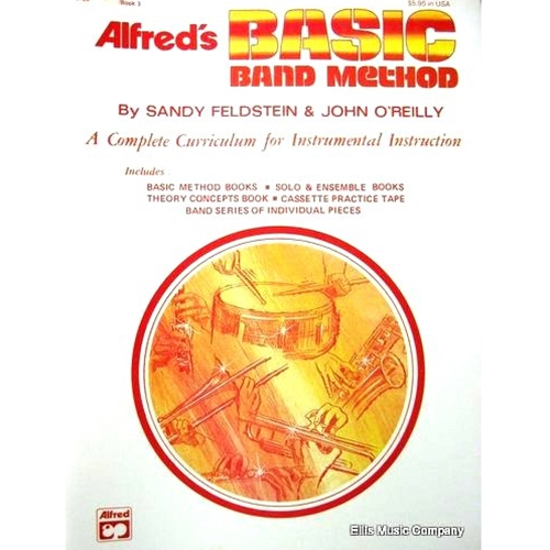 Alfred's Basic Band Method - Tenor Saxophone, Book 3