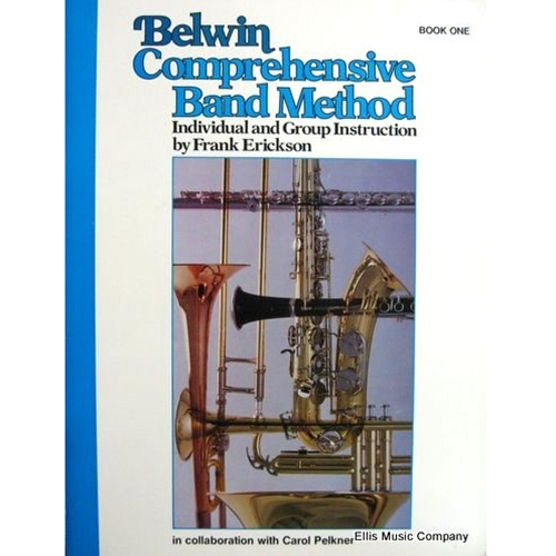 Belwin Comprehensive Band Method - Alto Saxophone, Book 1