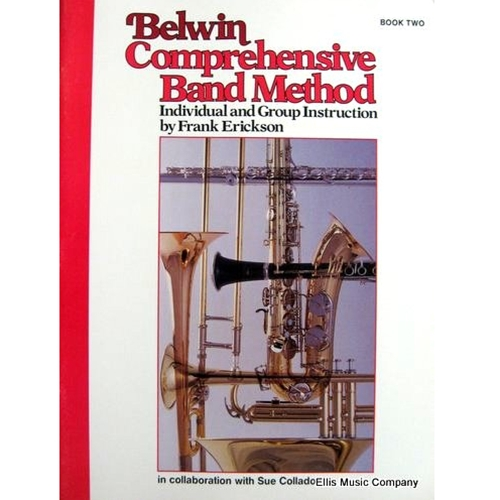 Belwin Comprehensive Band Method - Clarinet, Book 2