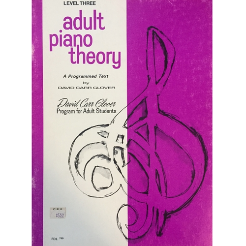 Adult Piano Theory - Level 3