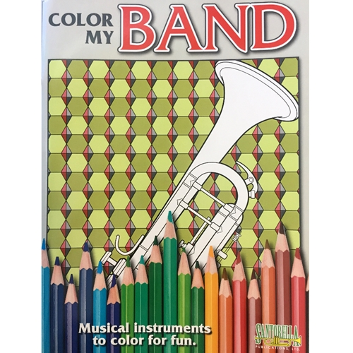 Color My Band (Coloring Book)