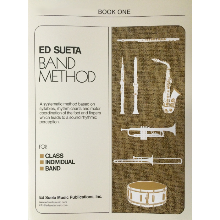 Ed Sueta Band Method for Drums, Book 1