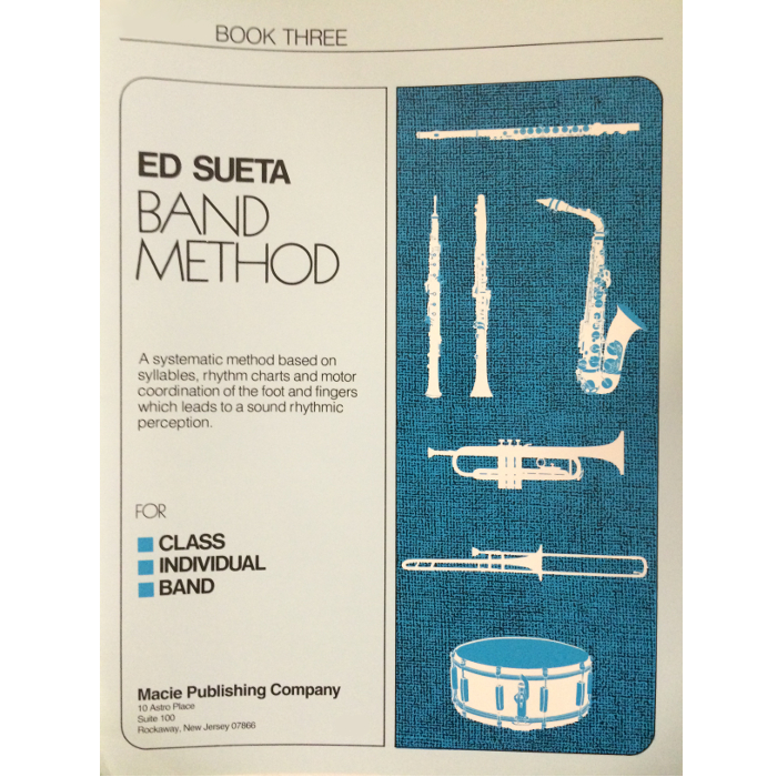 Ed Sueta Band Method for Drums, Book 3