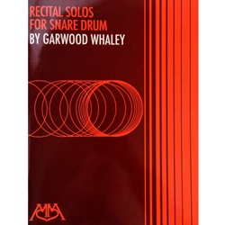 WHALEY - Recital Solos for Snare Drum