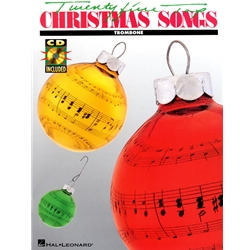 25 Top Christmas Songs for Trombone (w/CD)