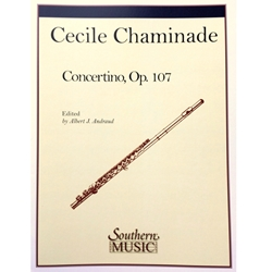 CHAMINADE - Concertino for Flute & Piano