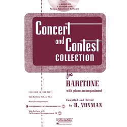 Accompaniment CD for Concert and Contest Baritone BC