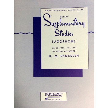 Rubank Supplementary Studies for Saxophone