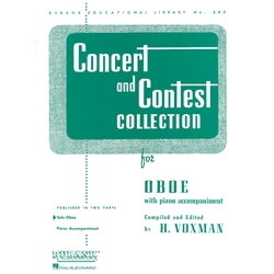 Concert and Contest Collection for Oboe (Solo Book)