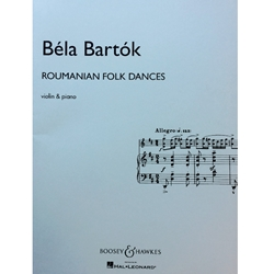 BARTOK - Roumanian Folk Dances for Violin & Piano
