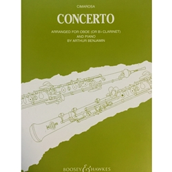 CIMAROSA - Concerto for Oboe (with piano reduction)