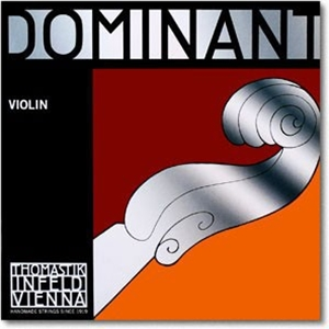 Dominant Violin D String, 1/16 (Synthetic core, Silver wound)