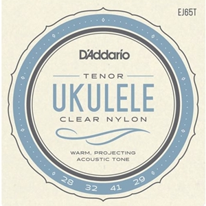 D'Addario EJ65T Tenor Ukulele Strings - Clear Nylon