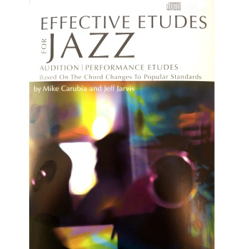 Effective Etudes For Jazz - Tenor Saxophone (Book w/CD)