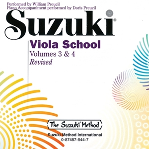CD Recording for Suzuki Viola School Volumes 3 & 4 (Revised)