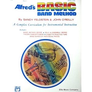 Alfred's Basic Band Method - Keyboard Percussion, Book 1