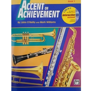 Accent on Achievement - Combined Percussion, Book 1