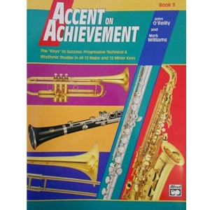 Accent on Achievement - Baritone Bass Clef, Book 3