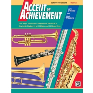 Accent on Achievement - Conductor's Score, Book 3