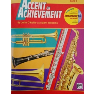 Accent on Achievement - Bass Clarinet, Book 2