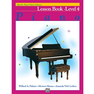 Alfred's Basic Piano Course: Lesson Book 4