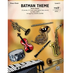 Batman Theme (from the Original TV Series) for Flute Choir