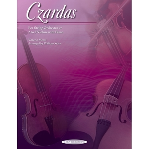 Czardas for String Orchestra or 2 to 3 Violins with Piano Accompaniment