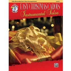 Easy Christmas Carols Instrumental Solos for Cello