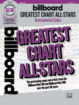 Billboard Greatest Chart All-Stars Solos for Tenor Saxophone