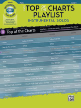 Easy Top of the Charts Playlist Instrumental Solos for F Horn