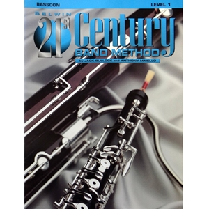 Belwin 21st Century Band Method - Bassoon, Level 1