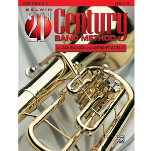 Belwin 21st Century Band Method - Baritone Bass Clef, Level 2